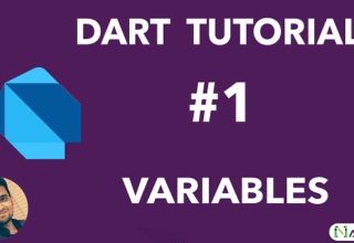 Variables in Dart Programming language