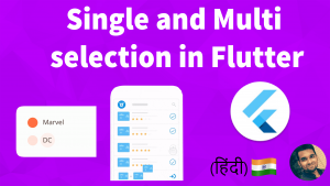 Single and Multi Selection ListView in Flutter