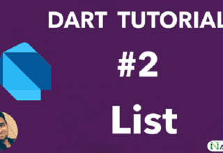 List in Dart Programming language