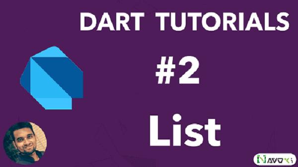 List in Dart Programming language